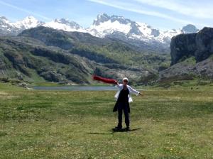 The hills come alive for a Jubilada...