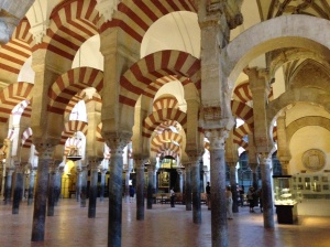 Mezquita de Cordoba -  first a Mosque; now a Cathedral
