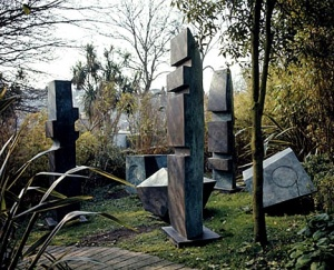 In Barbara Hepworth's garden