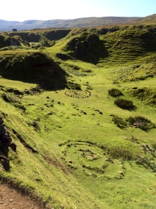 What faeries do in their dells on the Isle of Skye