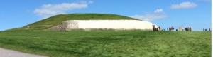 Its sheer size and elegant curvature makes New-grange the most visited of all the Irish passage tombs
