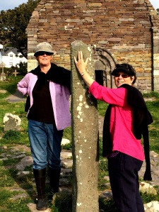 In respect of ancient standing stones. Dingle, County Kerry