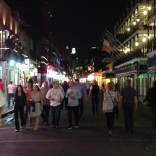 Crowd in control, Bourbon St