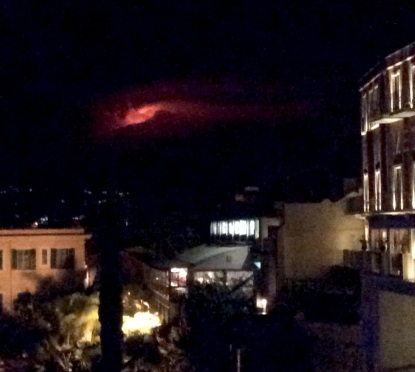 Etna's wild night