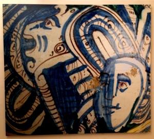 Ceramic portraiture, Burgio