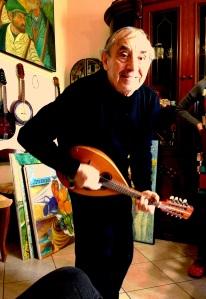 Guiseppe Salvo, artist/musician, Lucca