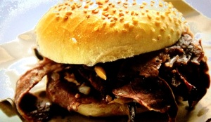Palmerten delicacy: Spleen Burger