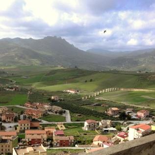 Sicilian landscape with a bridge too far....unfinished
